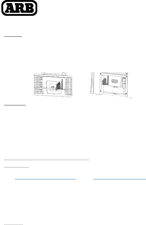 ARB 10900041 FRIDGE APP CONNECT MODULE User Manual