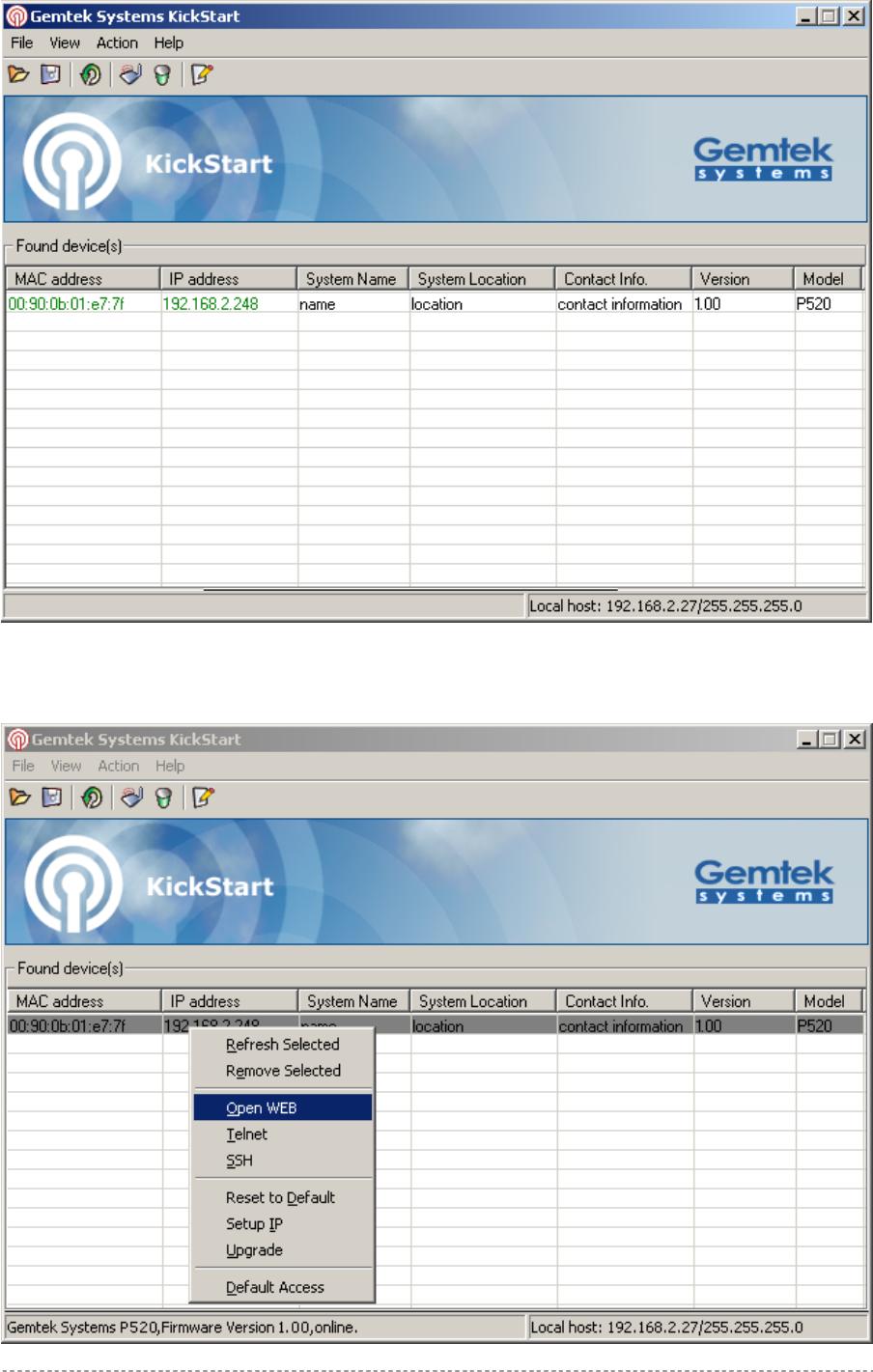 GemTek Technology AP930301G 54Mb Operator Access Point User Manual Title