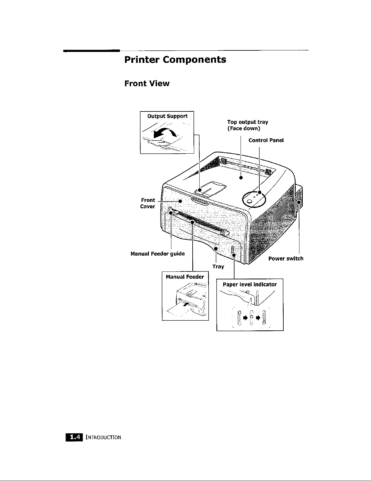 Samsung Electronics Co ML1520 Laser Beam Printer User Manual