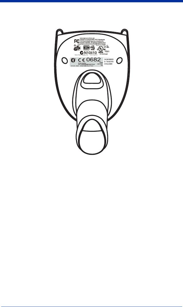 Honeywell MX2702 Bluetooth Bar Code Scanner User Manual