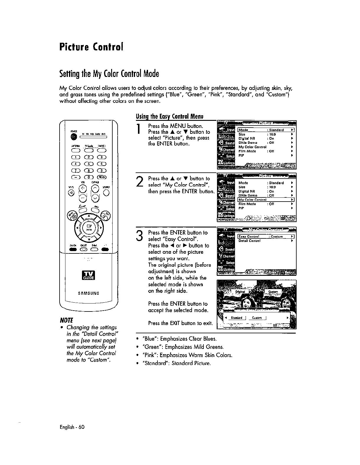 Samsung Electronics Co AT56L6D DLP TV Monitor User Manual