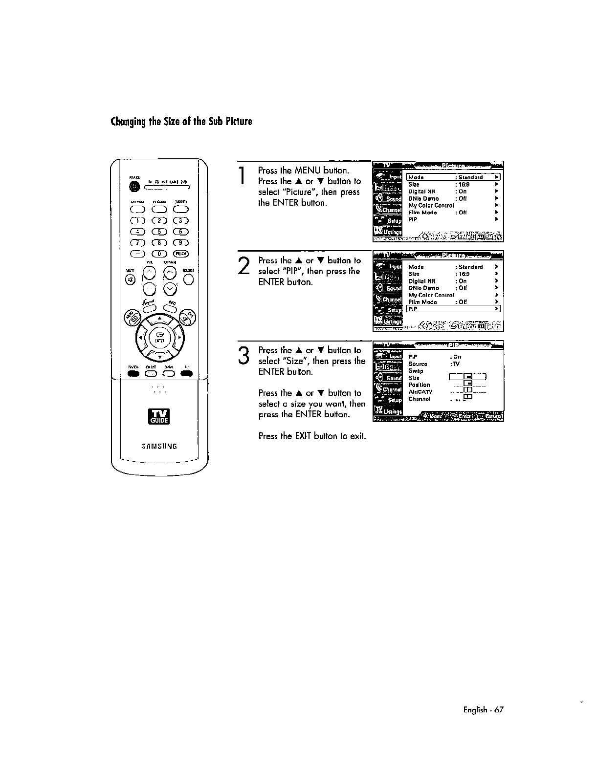 Samsung Electronics Co AT56L6D DLP TV Monitor User Manual