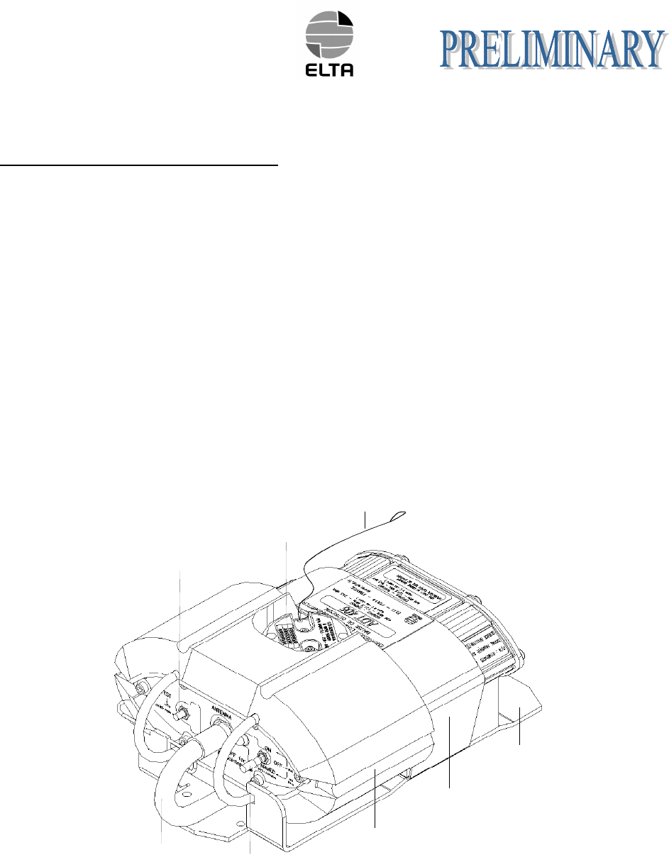 ELTA ADT406S ELT model ADT 406S (Emergency Locator