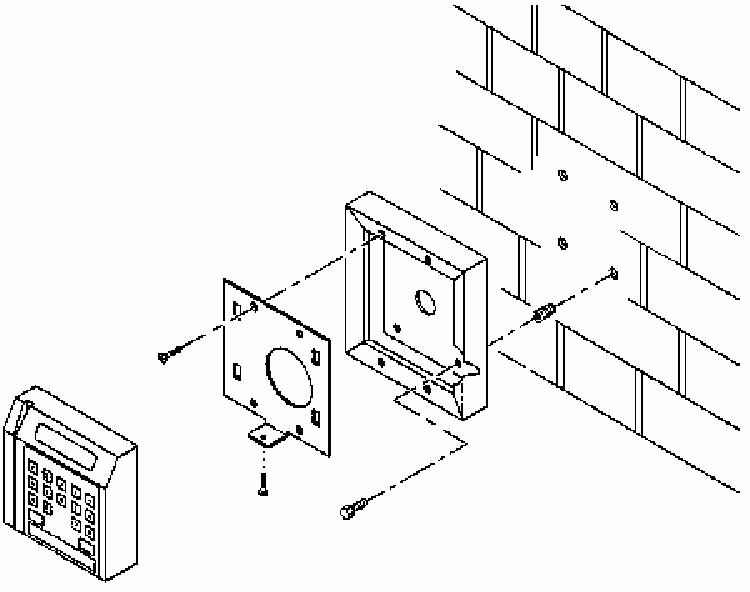 Matrix Systems 0114405 Keypad Proximity Reader User Manual
