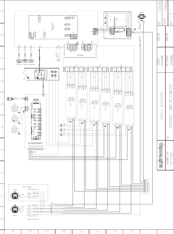 Elettronika S R L Txup1000 1000 Watt Analog Tv Broadcast Transmitter Block Diagram Of An Analogue Uhf Receiver 32