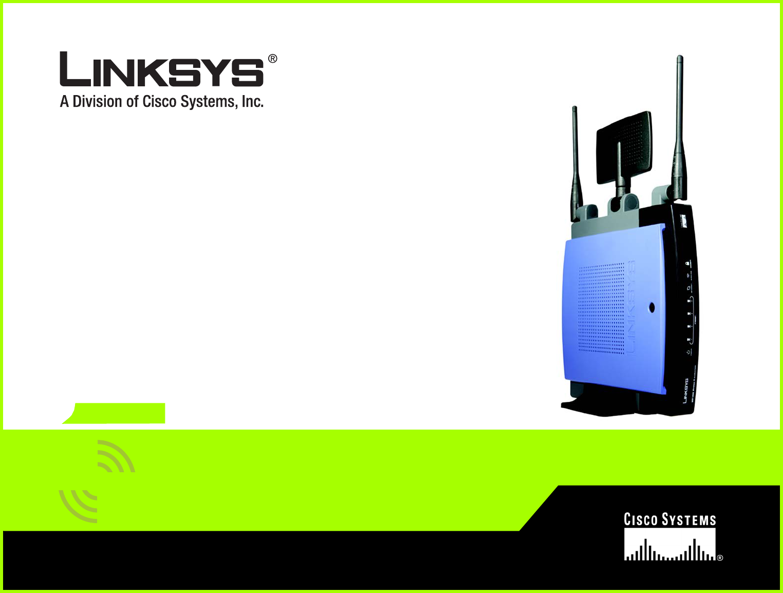 LINKSYS WRT300NV1 Wireless-N Broadband Router User Manual Book