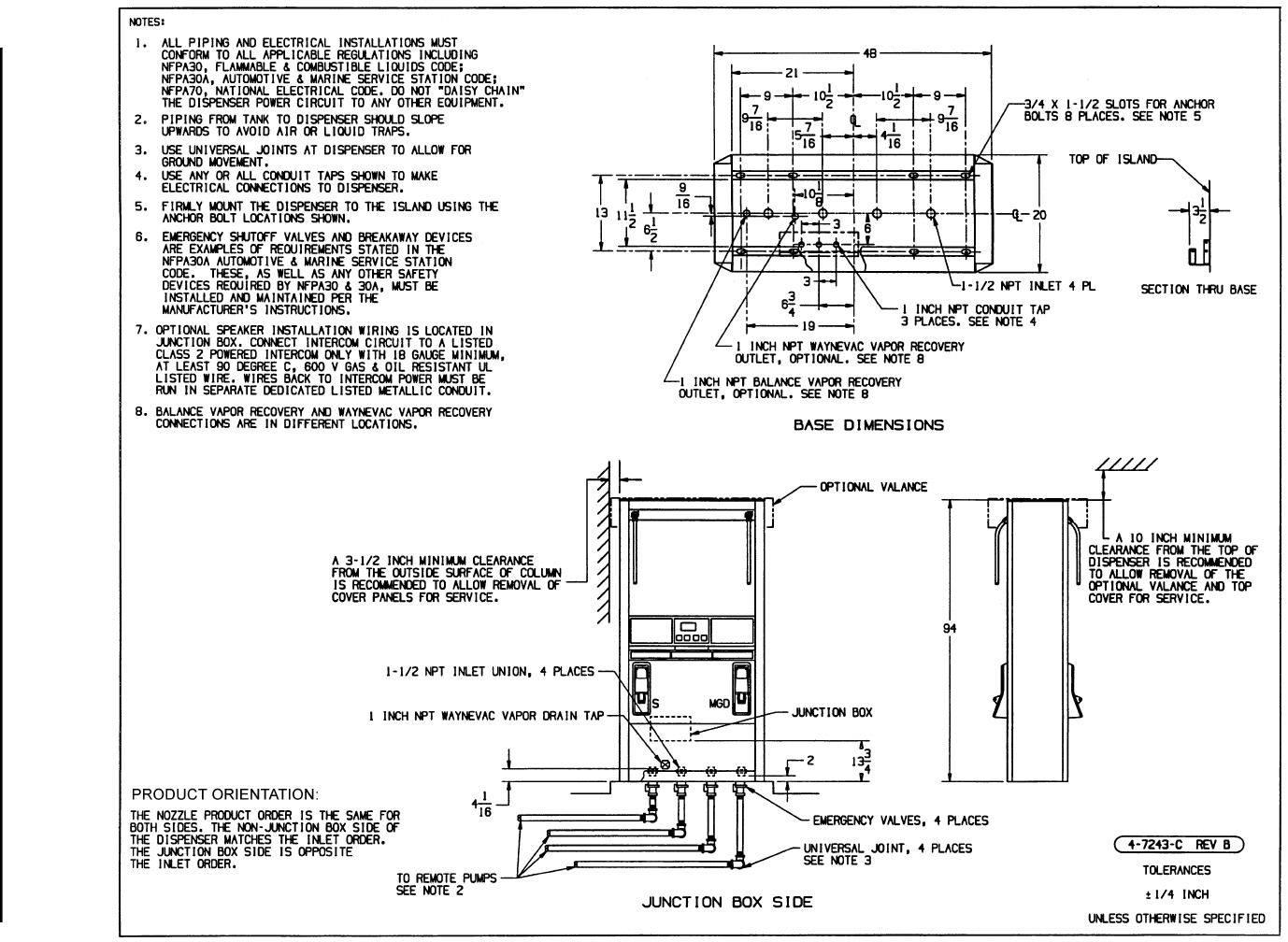 Wayne Fueling Systems VISTA RF ID Tag Reader User Manual