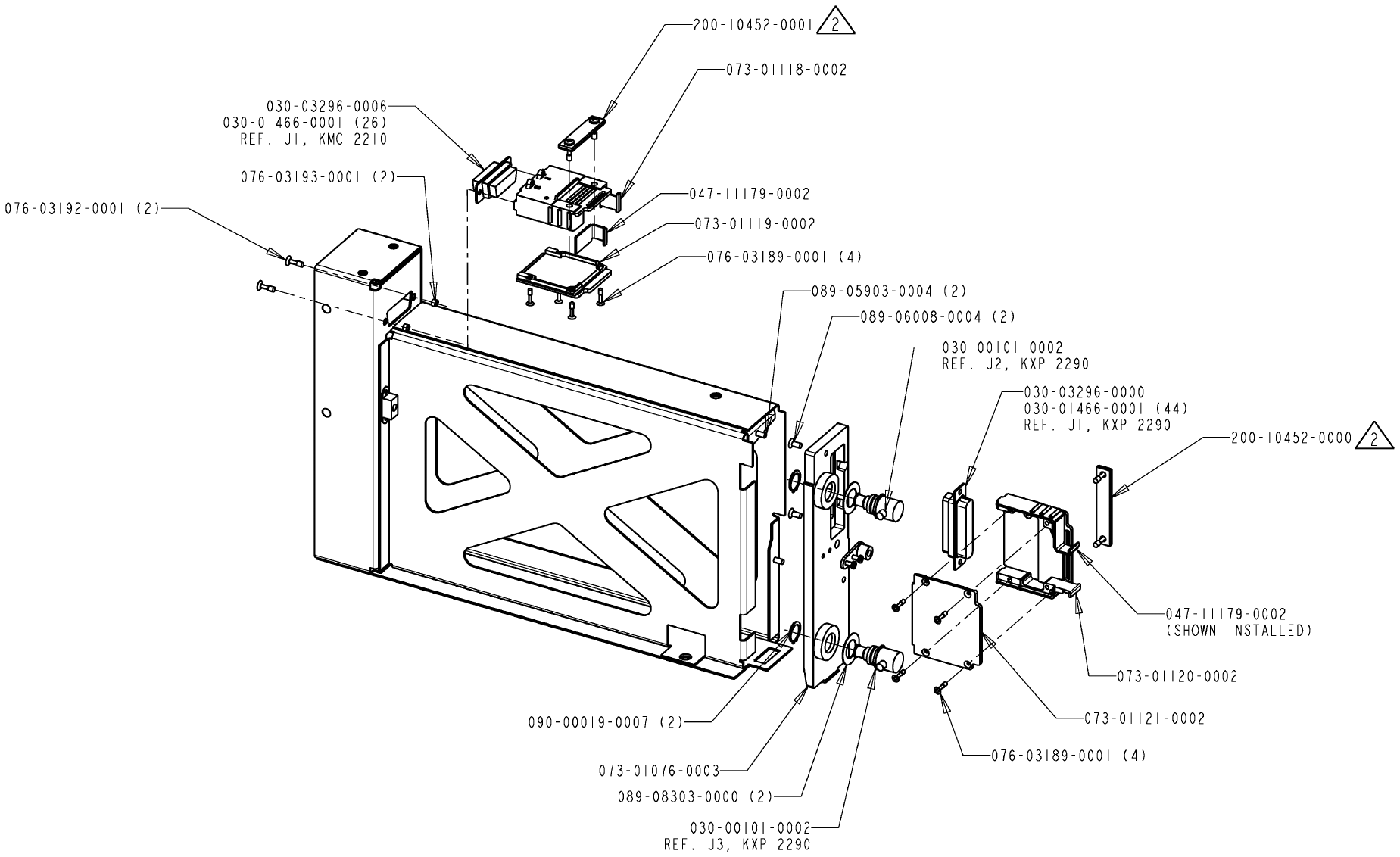 Honeywell KXP2290 AVIATION SERVICES TRANSMITTER User