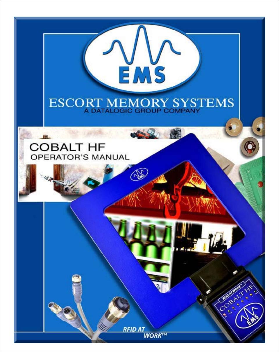Balluff COBALT-01 RFID Reader / Writer (HF-CNTL-422-01) User Manual