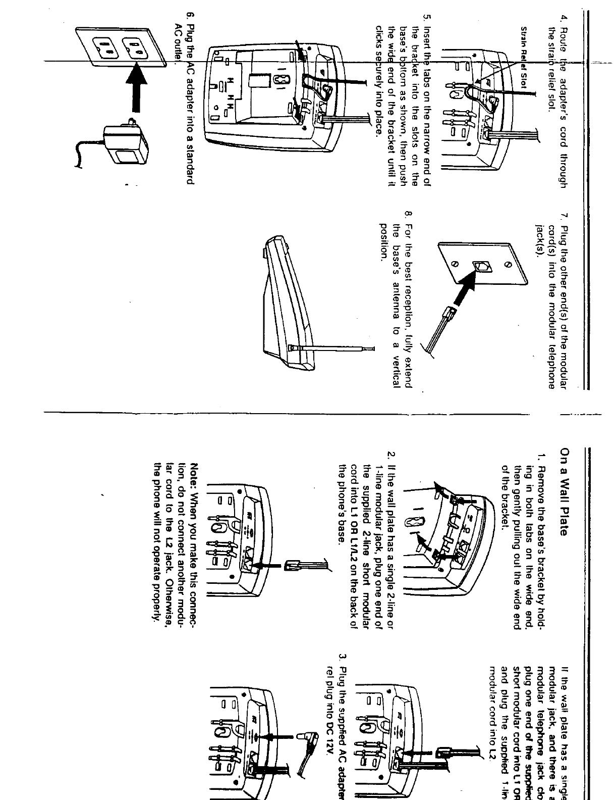 Radio Shack 4300689 900 MHz Cordless Phone User Manual 8