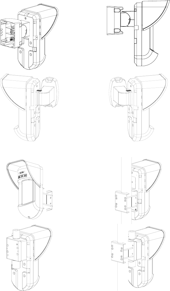 Risco RWT312PR4 PIR Detector Transmitter User Manual