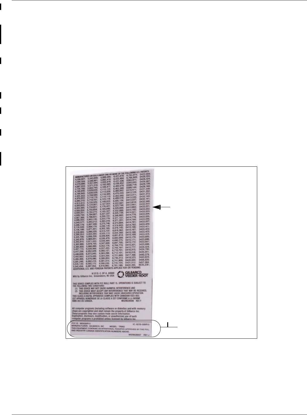 Gilbarco GBIR16 Card Reader Transmitter User Manual MDE 4635