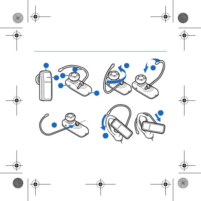 Microsoft WE07M Bluetooth Headset User Manual HS 98W en1