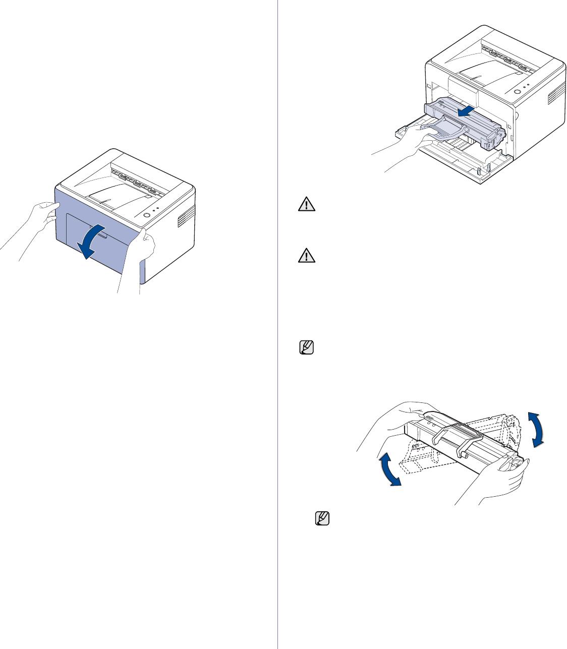 Samsung Electronics Co ML1640 Laser Printer User Manual