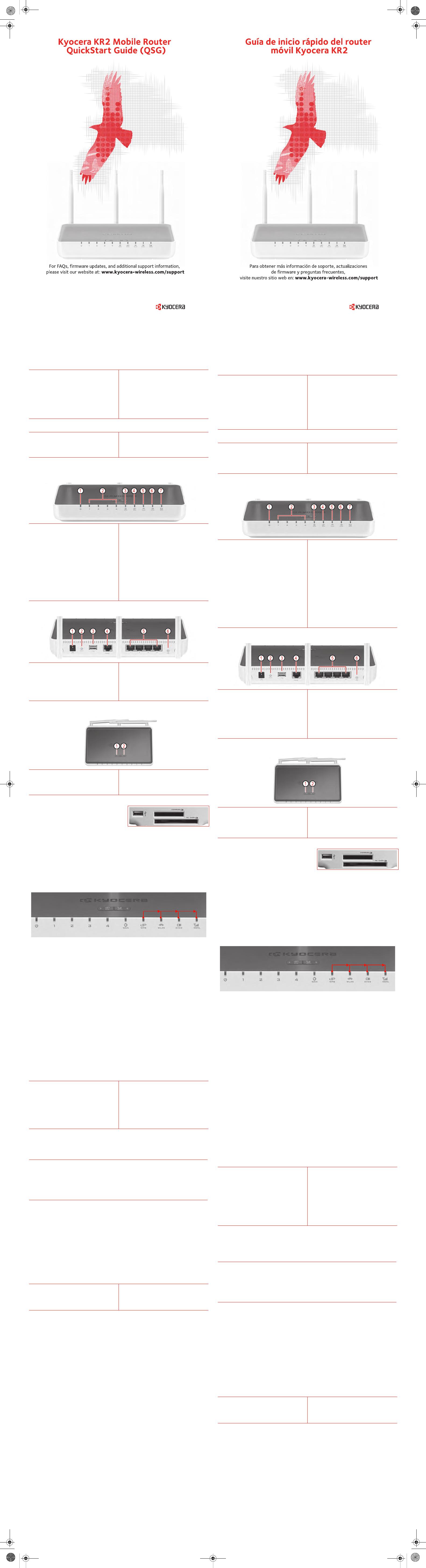 Kyocera TXRTR10012 Kyocera KR2 Mobile Router User Manual 82