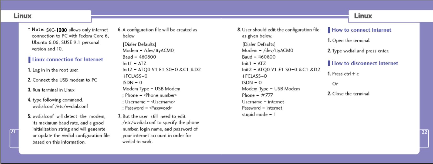 EpiCom SXC-1380 CDMA USB Modem User Manual SXC 1080 Cover