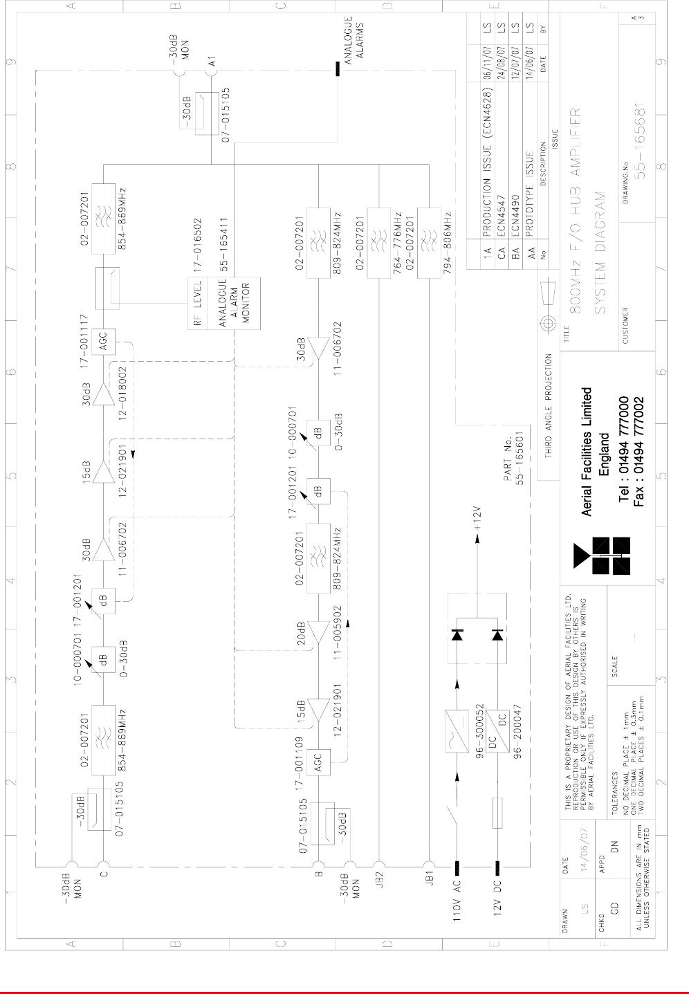 Axell Wireless 55-165703 55-165703 Cell Enhancer User Manual
