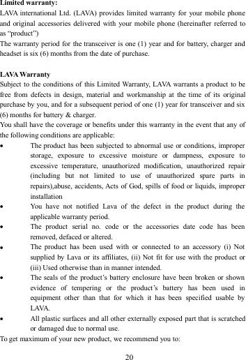 Lava User Manual Pixel V2 Pixelv2 en