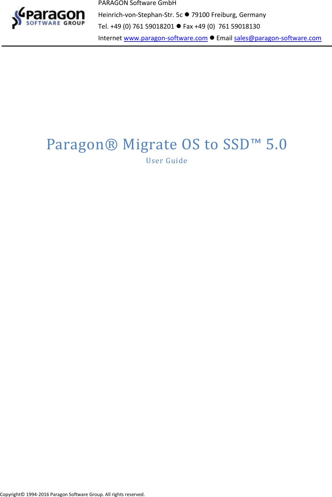 paragon migrate os to ssd инструкция