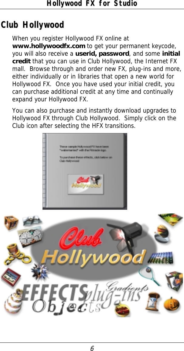 Pinnacle Hollywood FX Pro 4 5 Quick Start Guide Plus qs 45