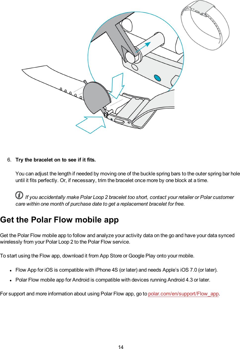 Polar My Loop 2 User Manual UG EN