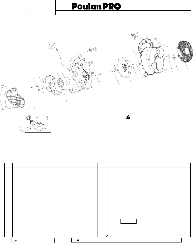 Poulan 545103471 Ipl Bvm200vs 2009 03 Blowers User Manual