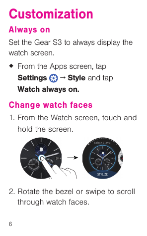 Samsung SM R765T (T Mobile) Quick Start Guide TMO Gear S3 QSG EN