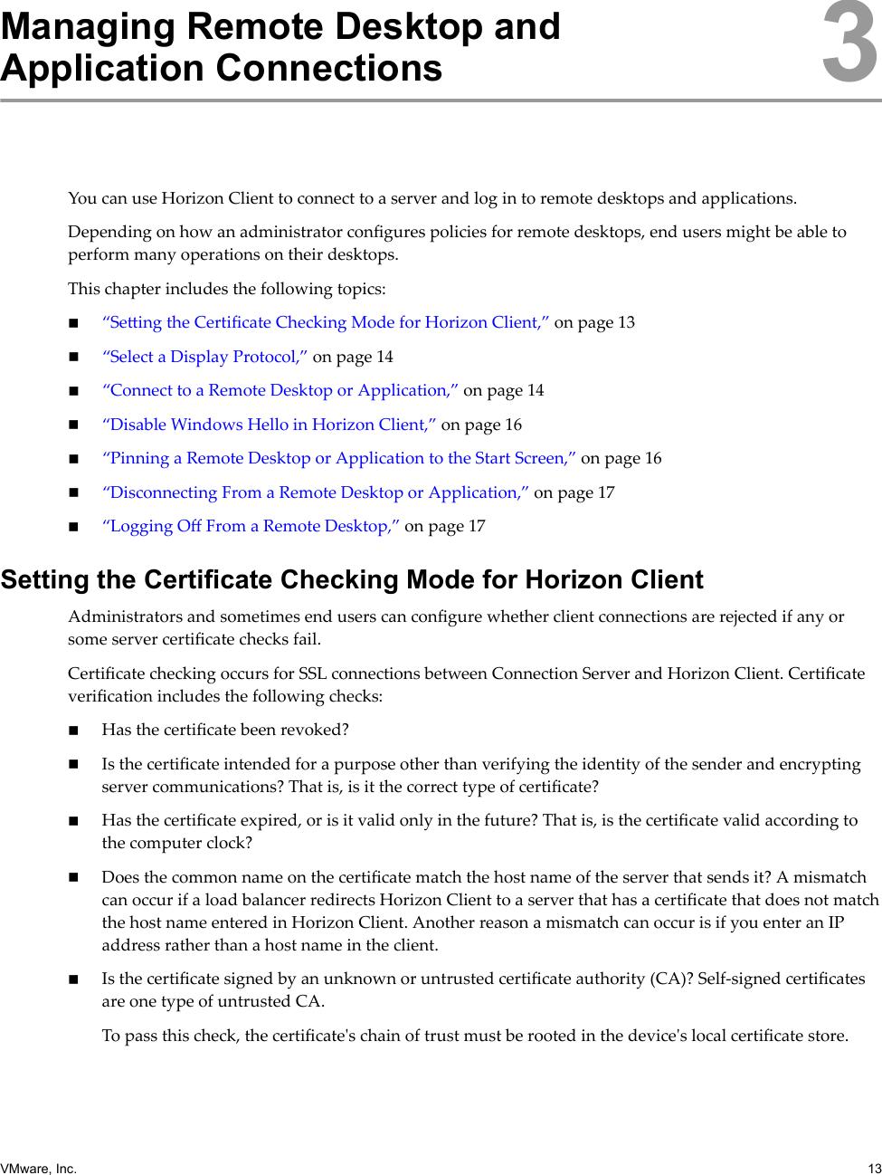 Vmware Using Horizon Client For Windows 10 UWP 10  4 5
