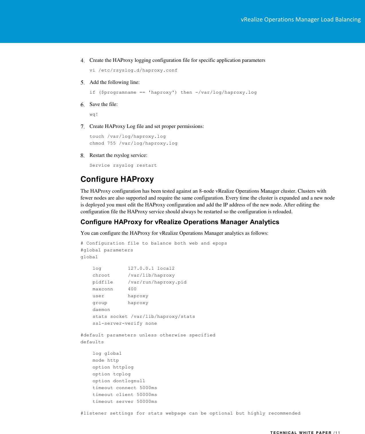 Vmware VRealize Automation Load Balancing V Realize