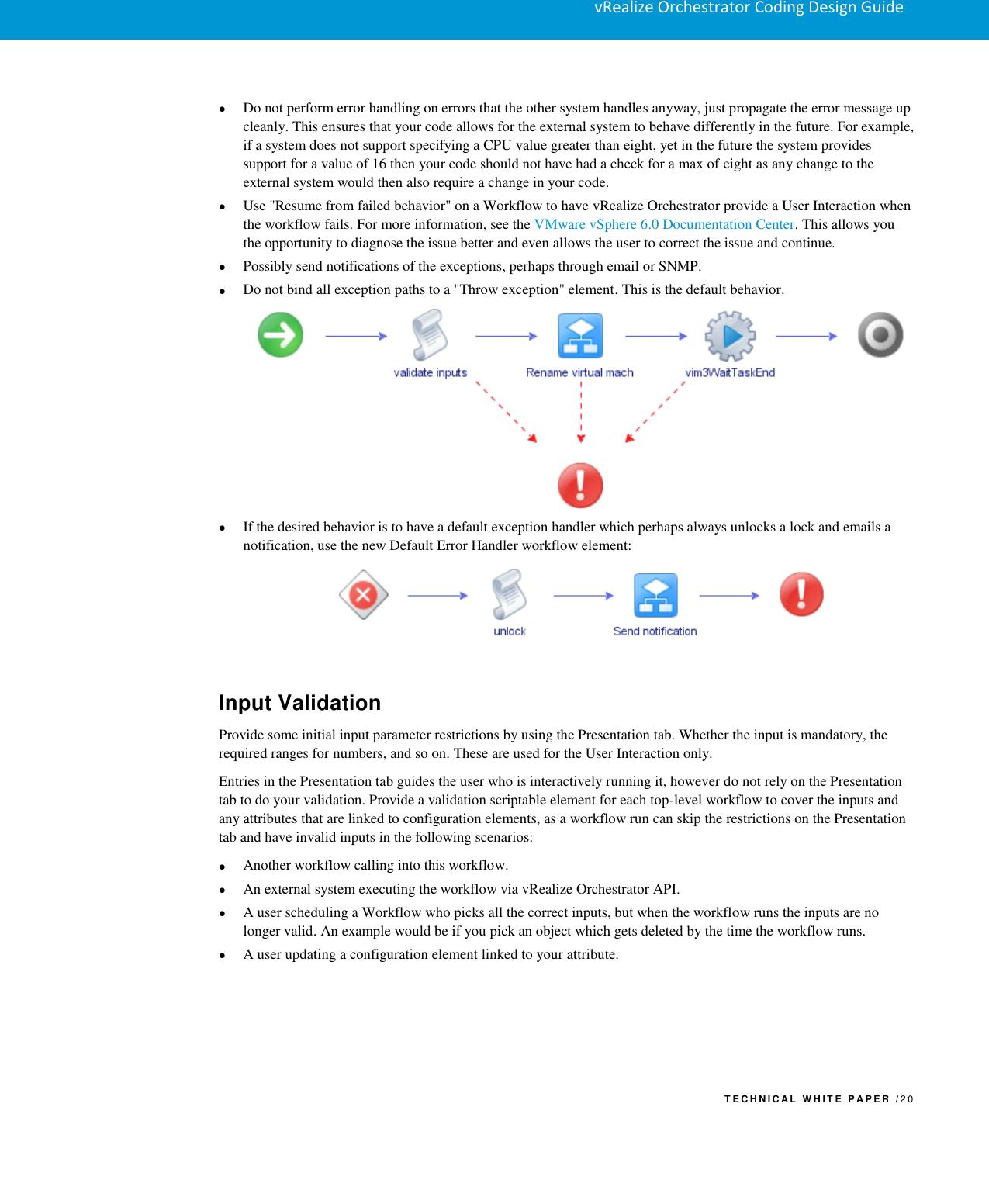 Vmware VRO Coding Design Guide V Realize Orchestrator Vrealize Cdg