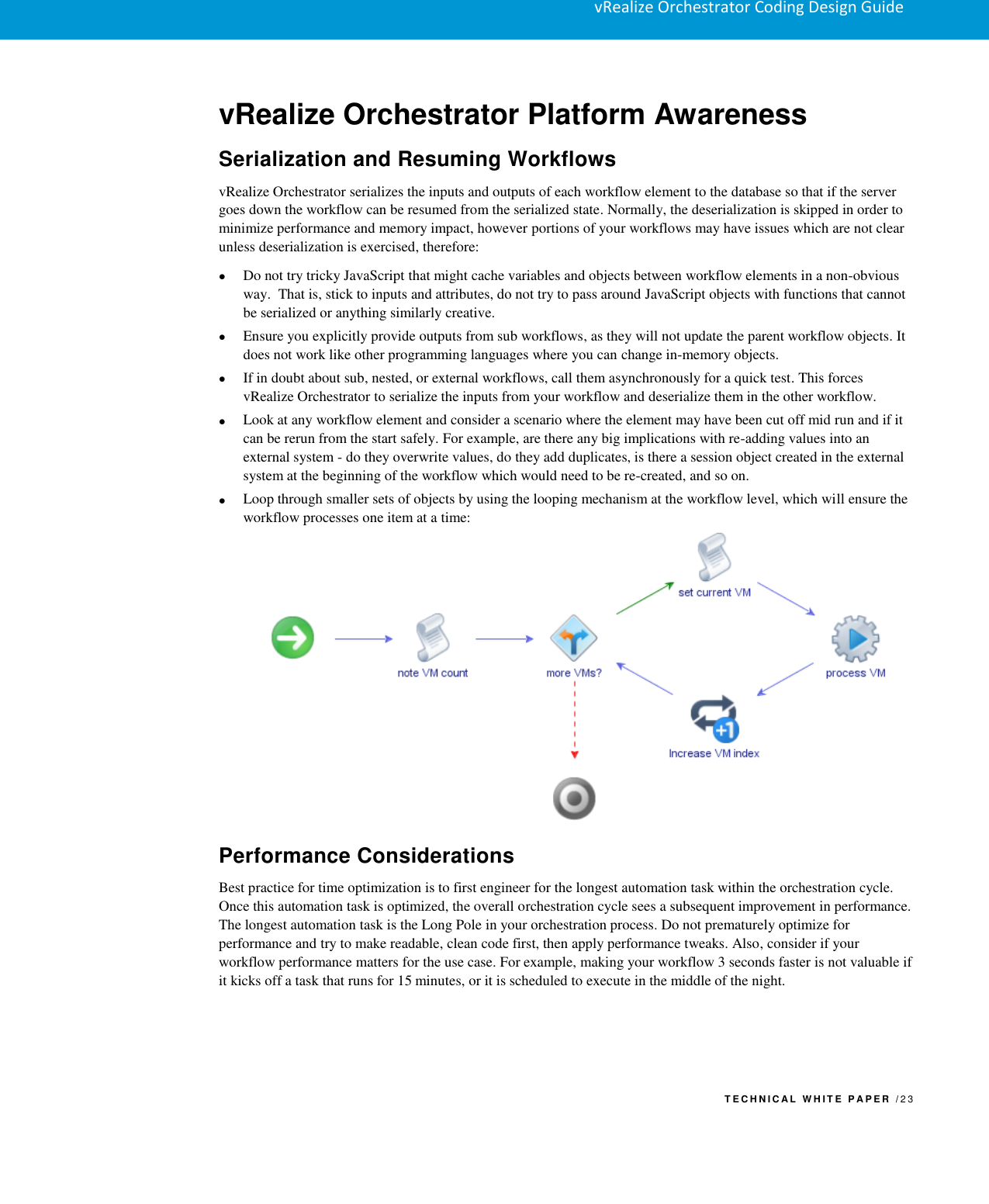 Vmware VRO Coding Design Guide V Realize Orchestrator