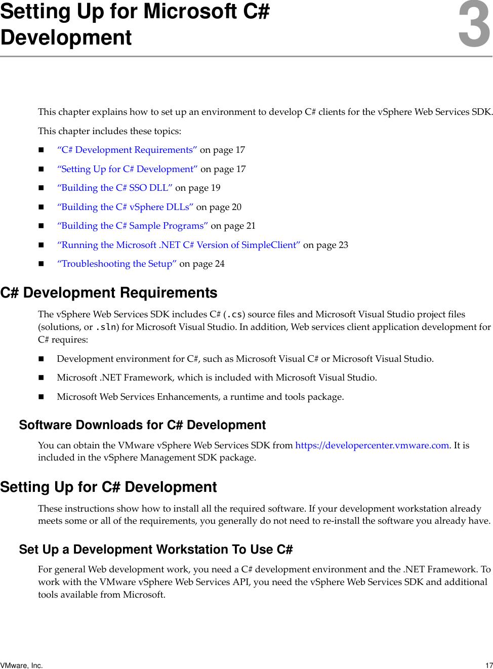 Vmware Developer's Setup Guide V Sphere 6 0 Web Services SDK