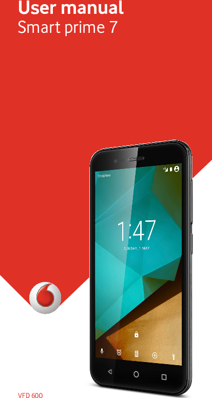 Vodafone VFD 600 Operating Instructions UK English